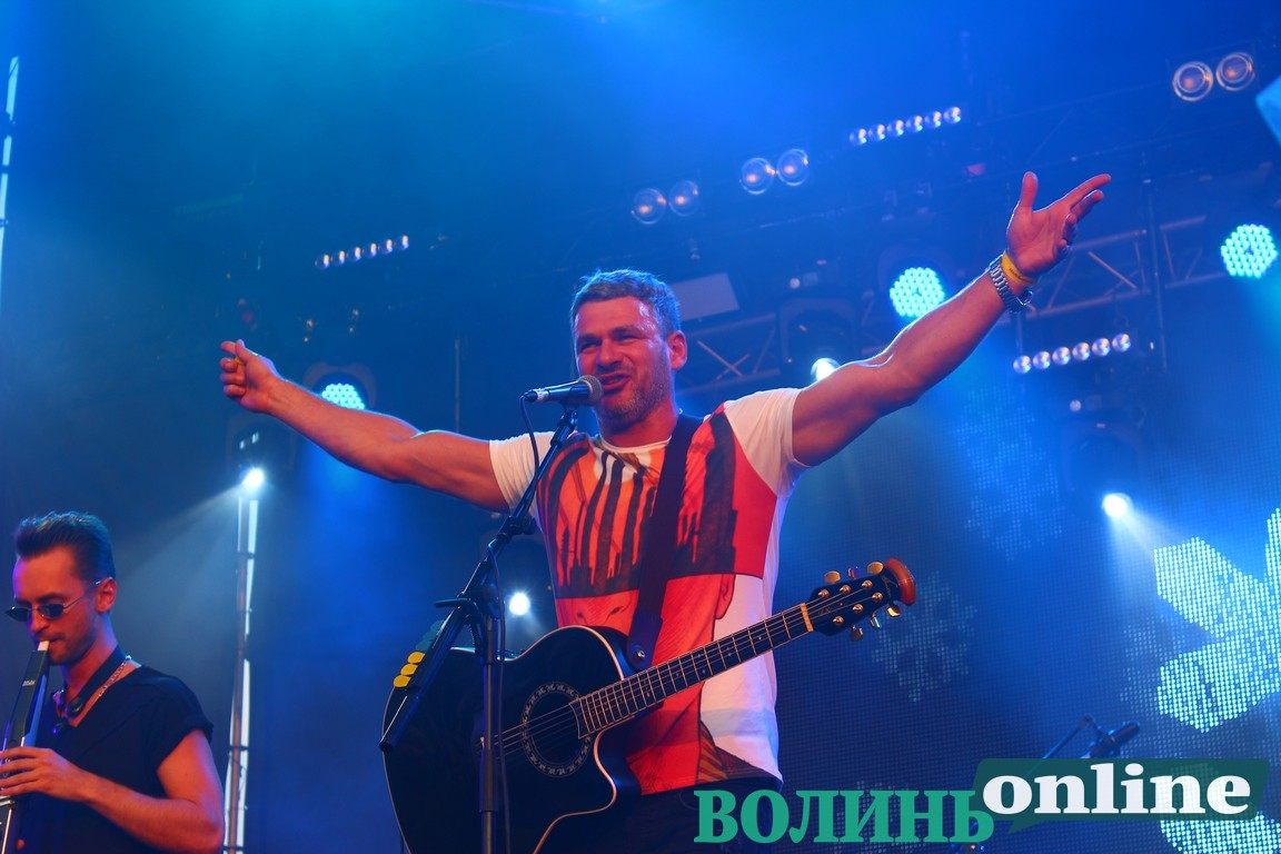 Арсен Мірзоян на головній сцені «Бандерштату». ФОТО