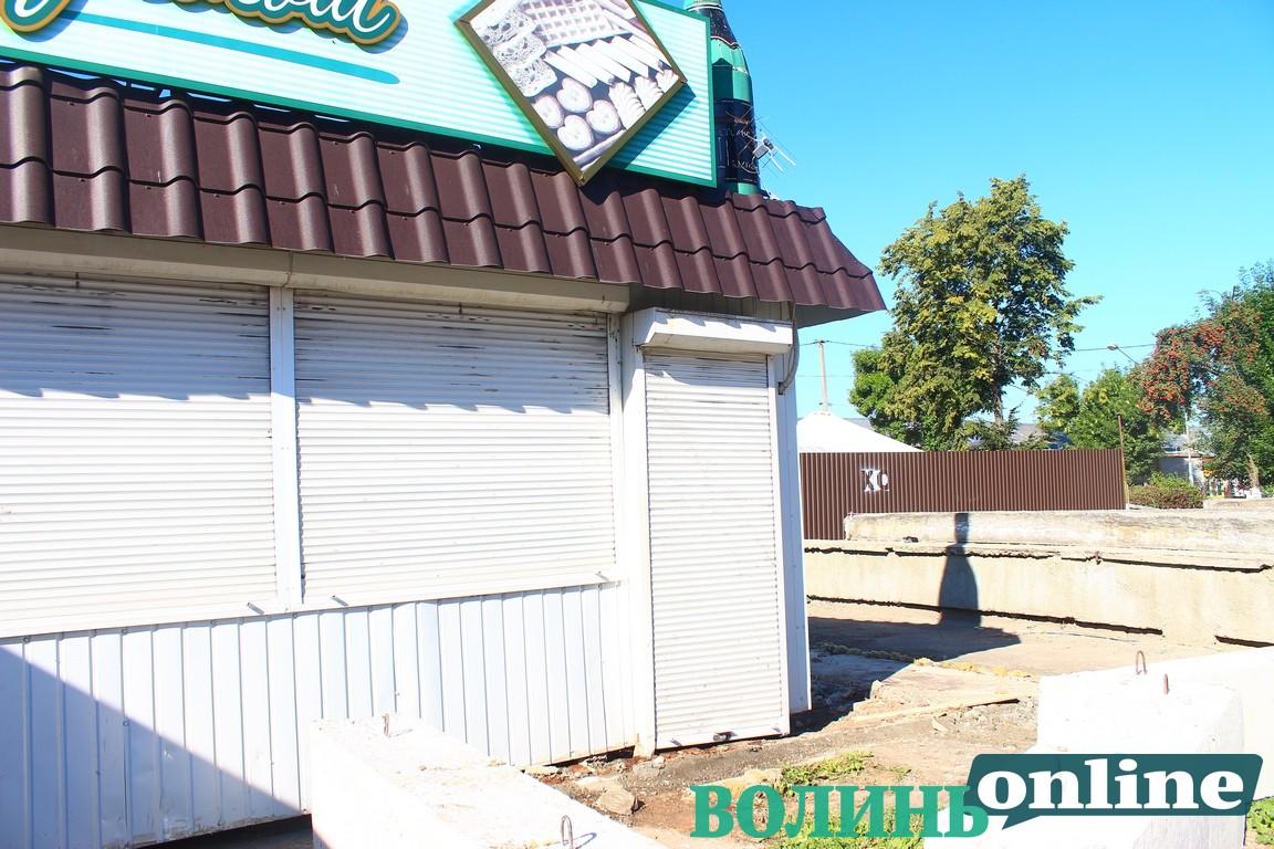 Виклали відео конфлікту із підприємцями біля луцької автостанції. ВІДЕО