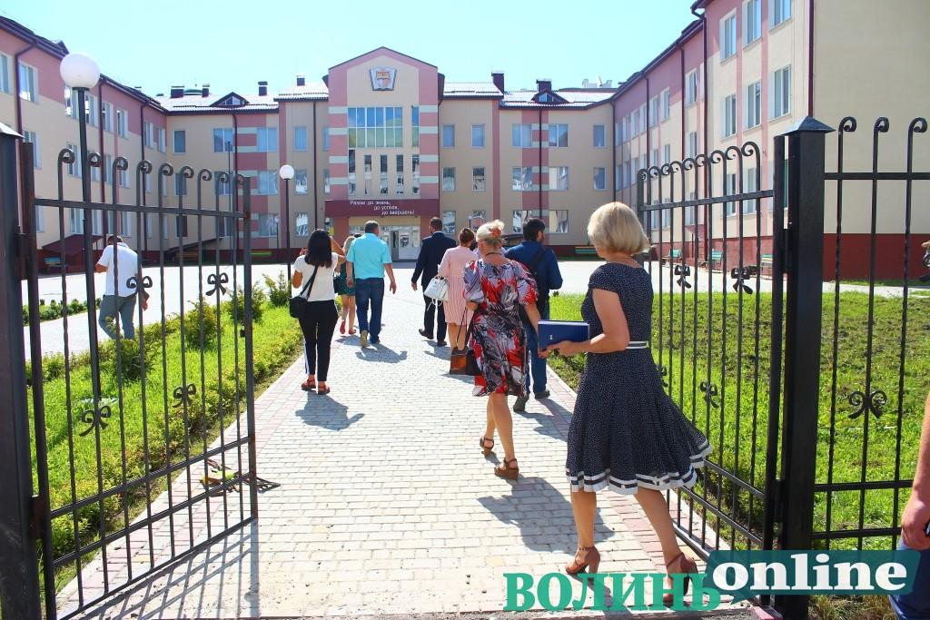 Кошти на завершення школи № 27 у Луцькраді планують забрати з центру для атовців та доріг