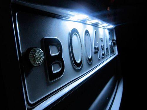 На «Ягодині» вилучили авто з саморобними реєстраційними номерами