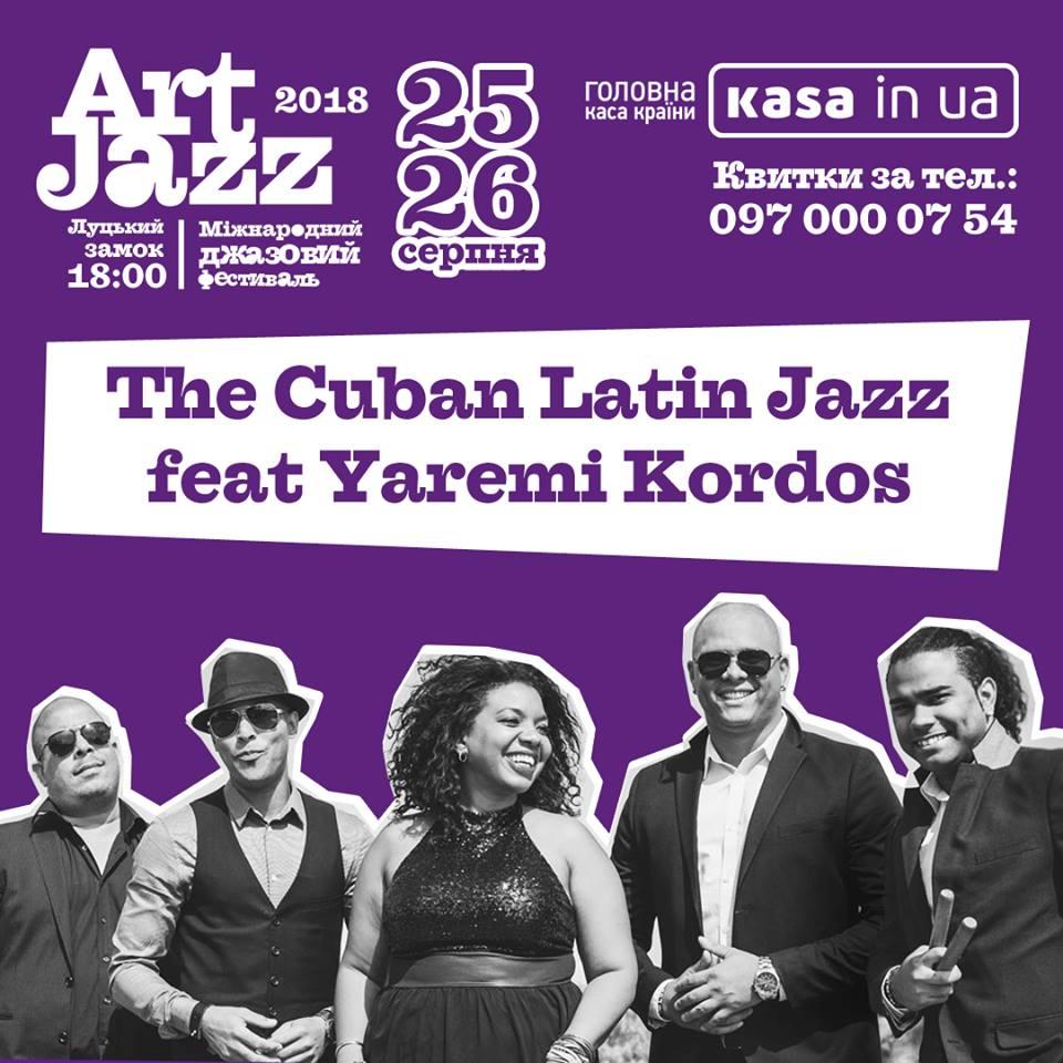 На «Art Jazz» приїдуть кубинці