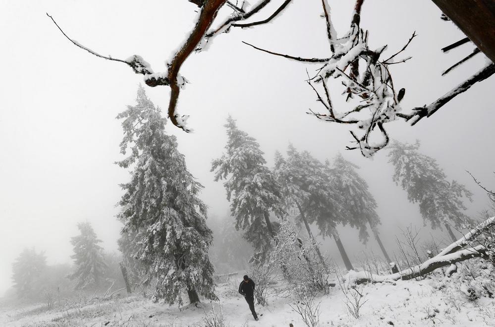 Канадські гори засипало снігом