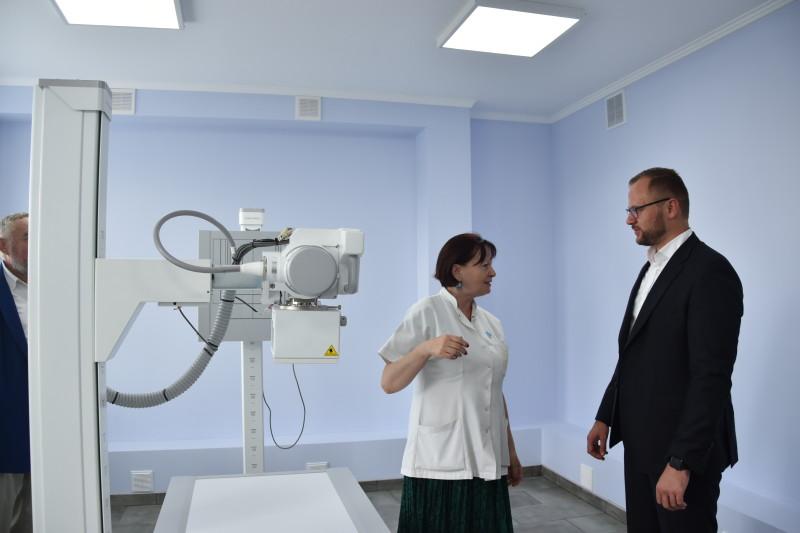 У Луцьку з'явився сучасний рентгенівський діагностичний комплекс. ФОТО