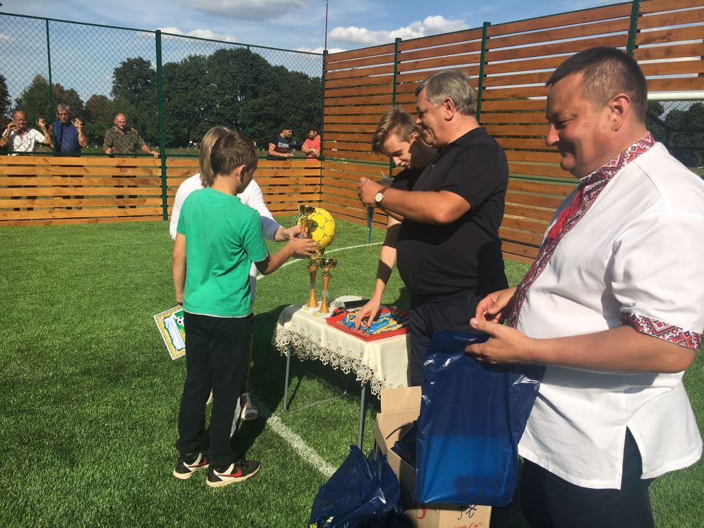 У Горохові відбувся дитячий турнір з міні-футболу на оновленому спортмайданчику