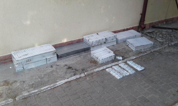 На Волині службовий собака «винюхав» близько двох тисяч пачок сигарет. ФОТО