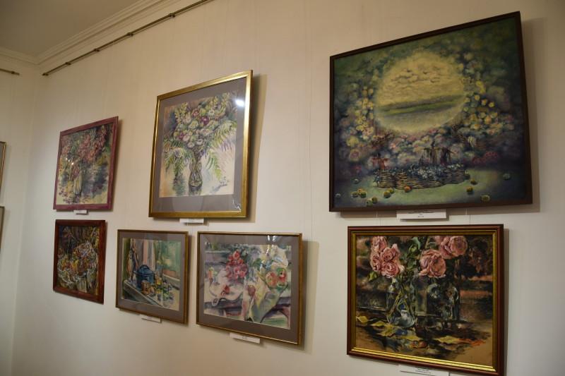 У Луцьку відбулась виставка робіт Лесі Каспрук. ФОТО