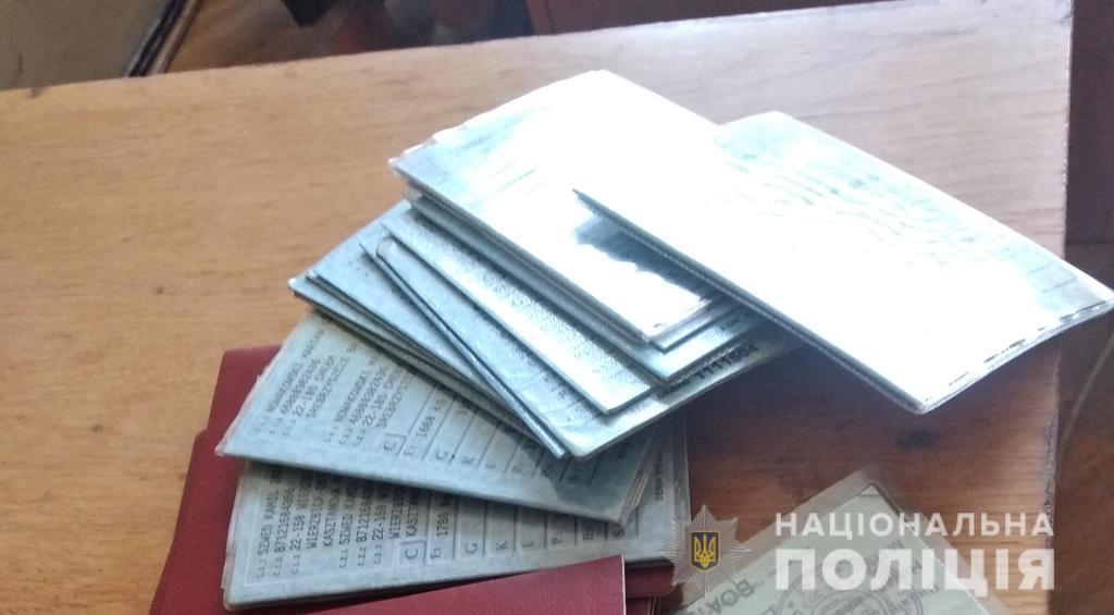 На Волині чоловік незаконно ввозив в Україну «євробляхи» та нелегалів. ФОТО