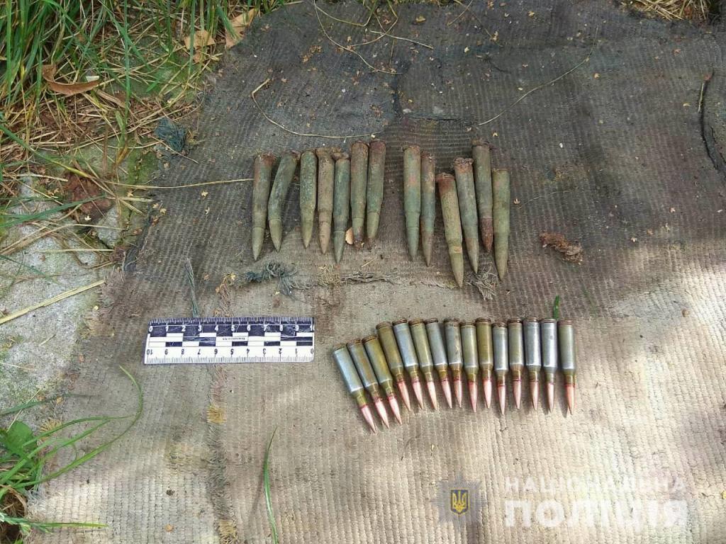 За добу поліцейські вилучили у волинян майже півсотні набоїв