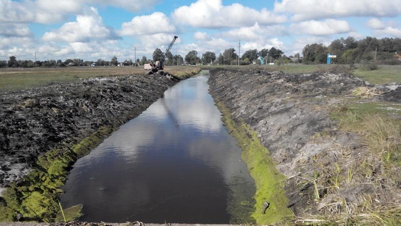 На Волині ремонтуватимуть канал осушувальної системи за понад 1,2 мільйона