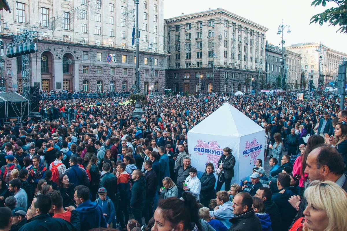 Волиняни взяли участь у святкуванні Дня Подяки на Хрещатику. ФОТО