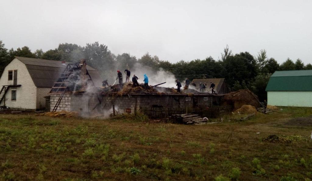 За добу на Волині трапилось чотири пожежі