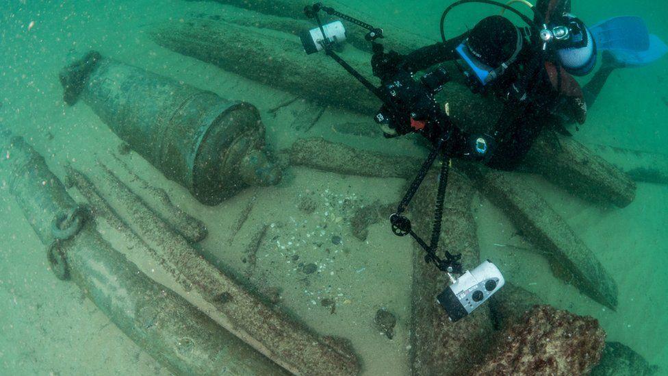 У Португалії знайшли судно, яке затонуло 400 років тому