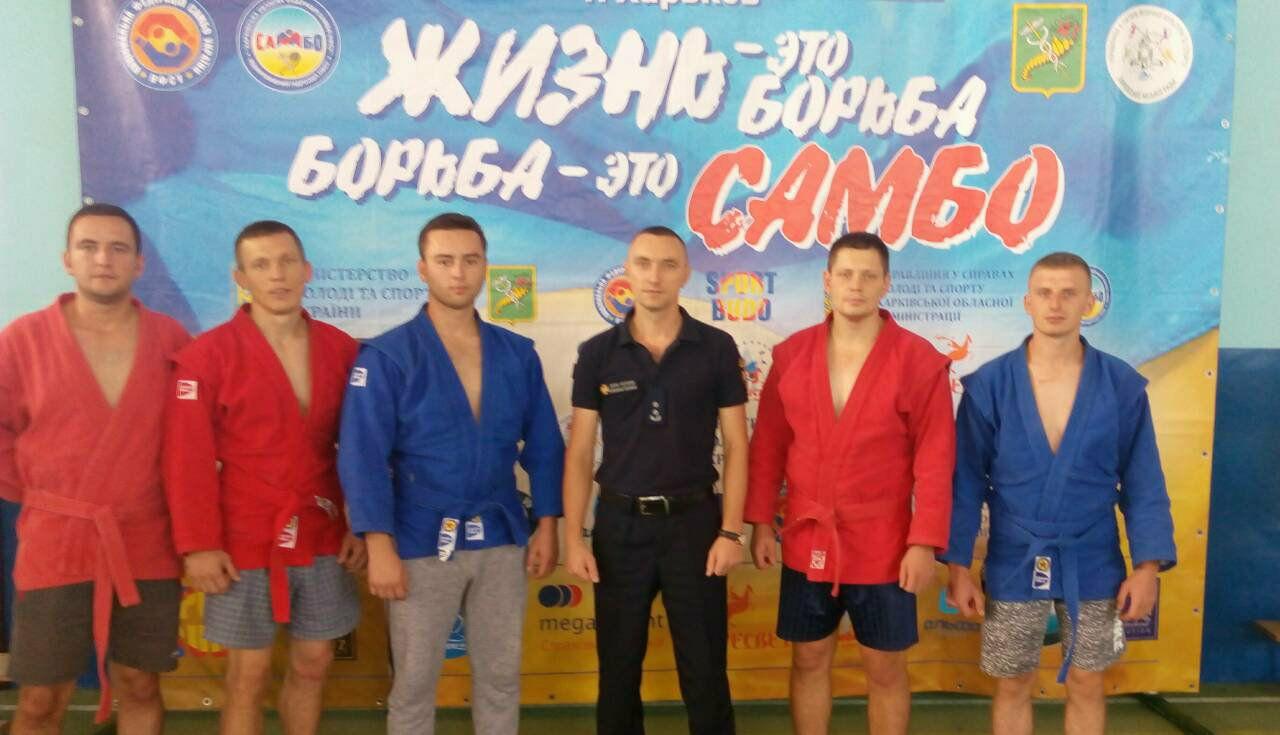 Волинські рятувальники вибороли бронзові медалі на чемпіонаті України з боротьби самбо