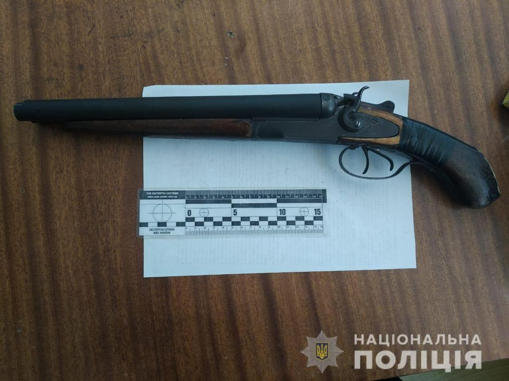 У Маневицькому районі поліцейські вилучили обріз