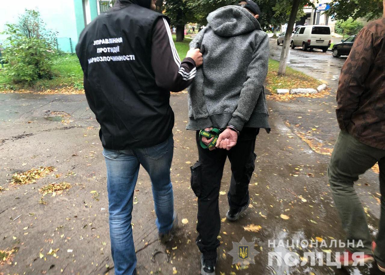 На Волині поліцейські затримали наркоторговців