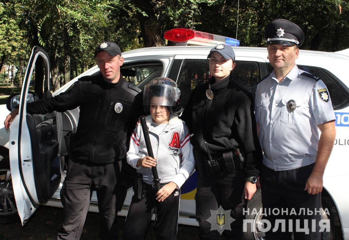 Волинські поліцейські долучилися до акції «Місто професій»