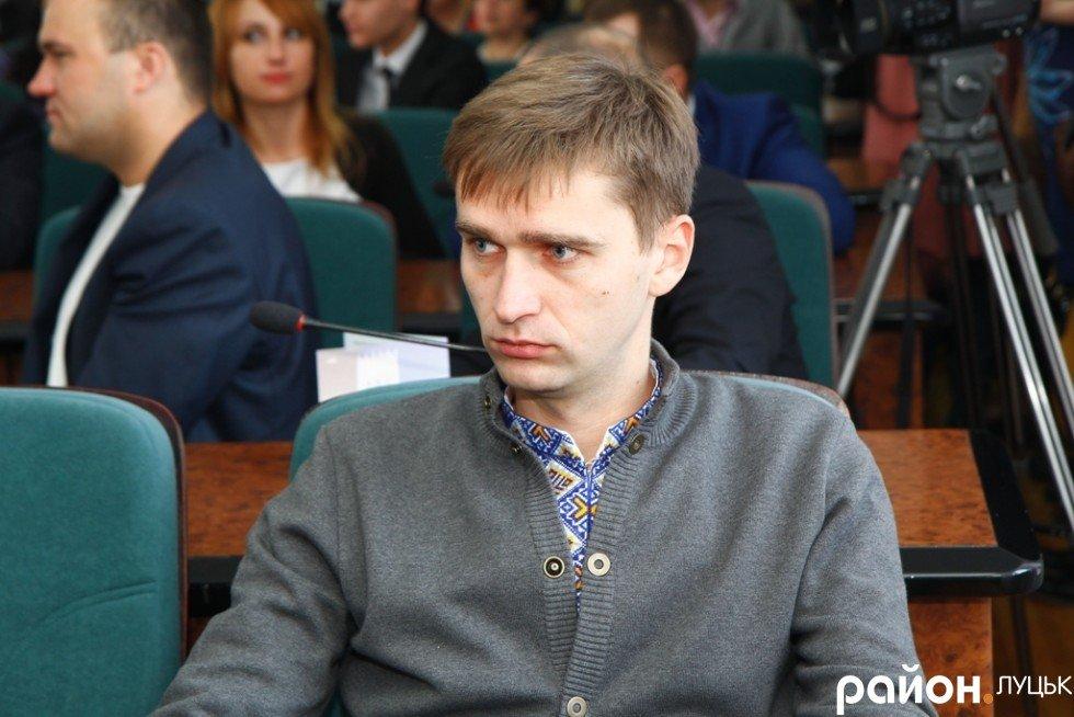 Депутат Луцькради склав мандат