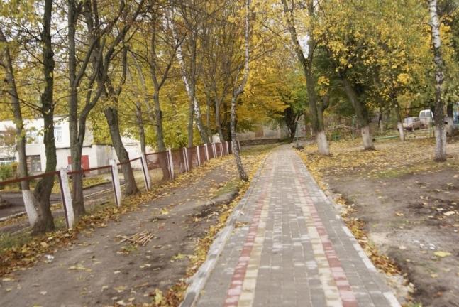 У Луцьку просять облаштувати пішохідну доріжку у двір школи