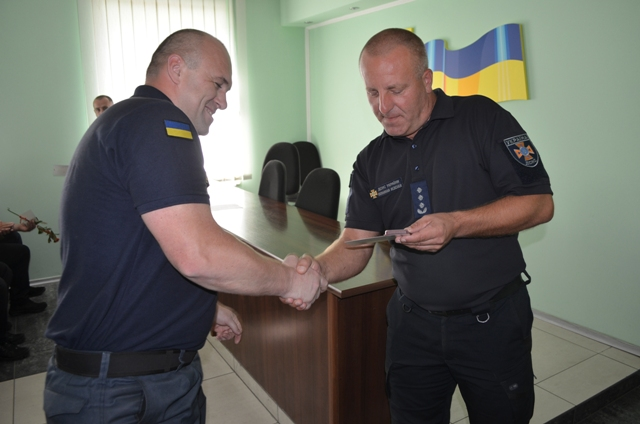 У Луцьку відбулось нагородження рятувальників з нагоди професійного свята. ФОТО. ВІДЕО
