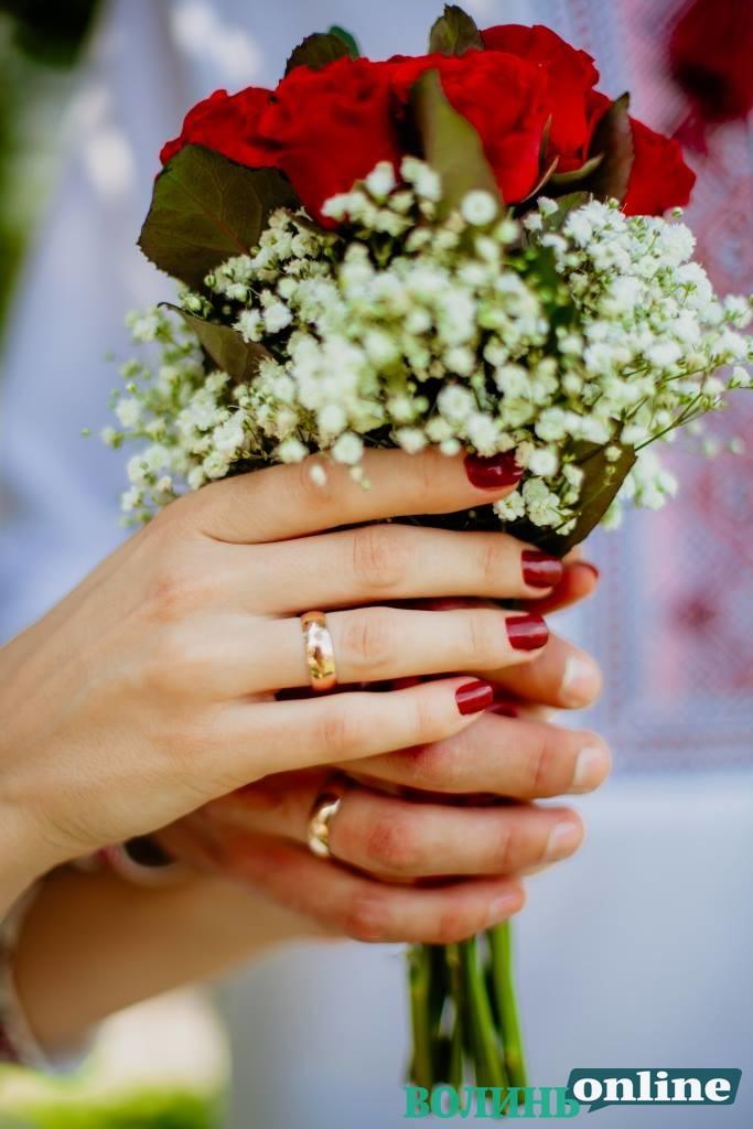 Вітаємо журналістку «Волинь Online» з одруженням