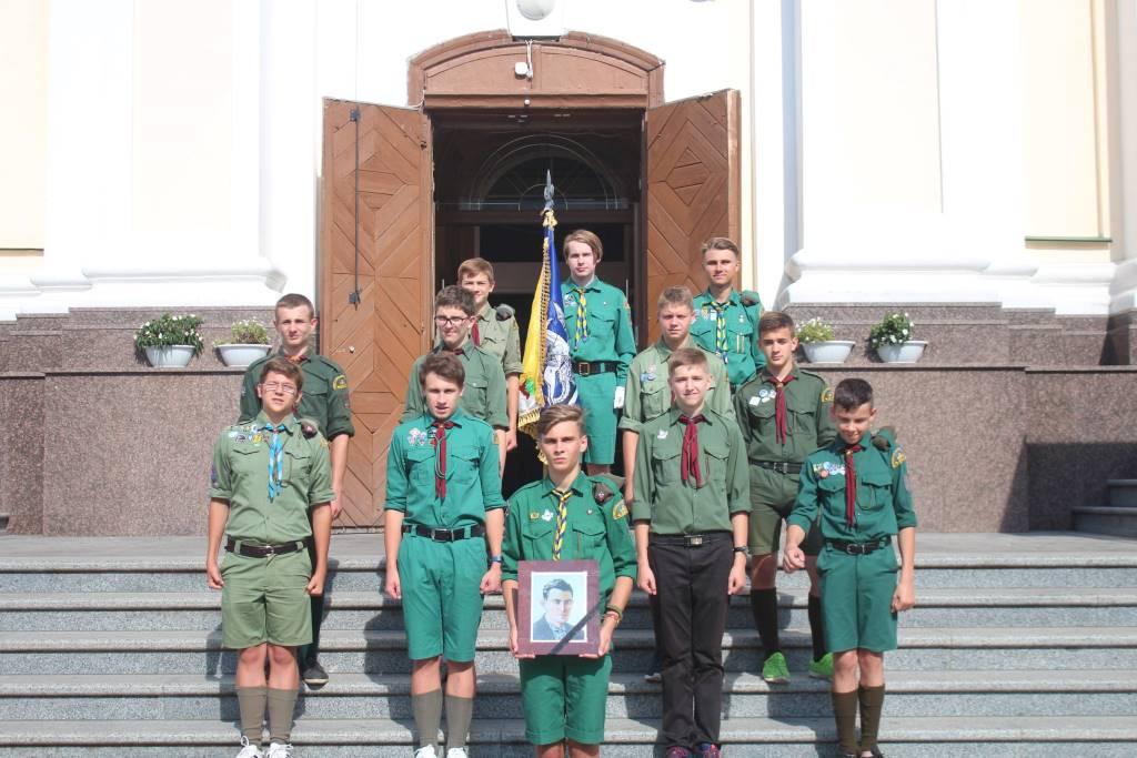 Луцькі пластуни вшанували пам'ять Василя Стуса. ФОТО