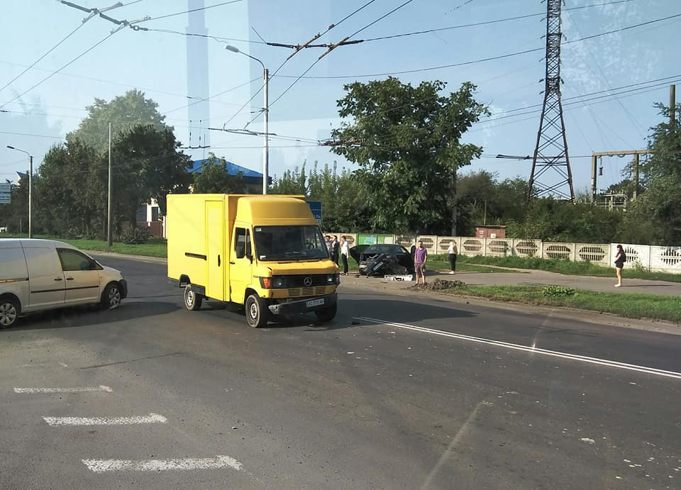 У Луцьку на Львівській – ДТП. ФОТО