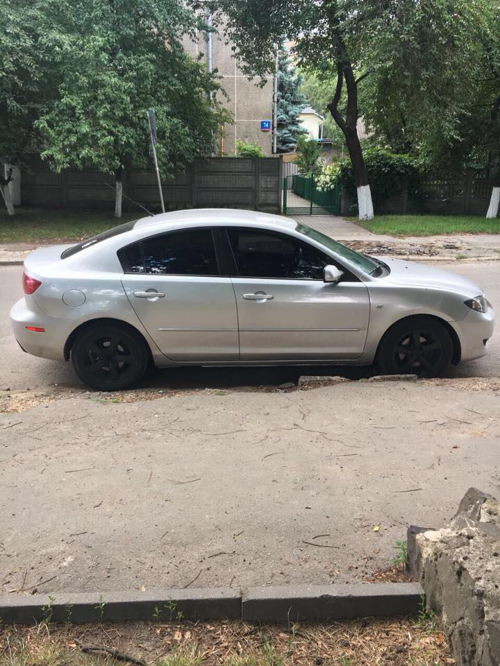 У Луцьку вкрали машину на литовських номерах