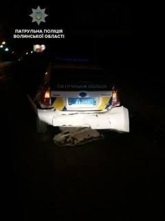 Луцькі патрульні затримали трьох нетверезих водіїв за ніч