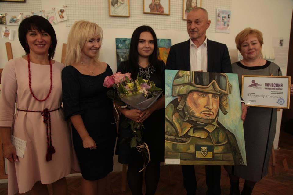У Луцьку відкрили персональну виставку доньки загиблого солдата-атовця. ФОТО