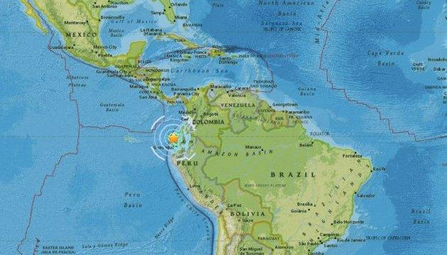 У Еквадорі стався потужний землетрус