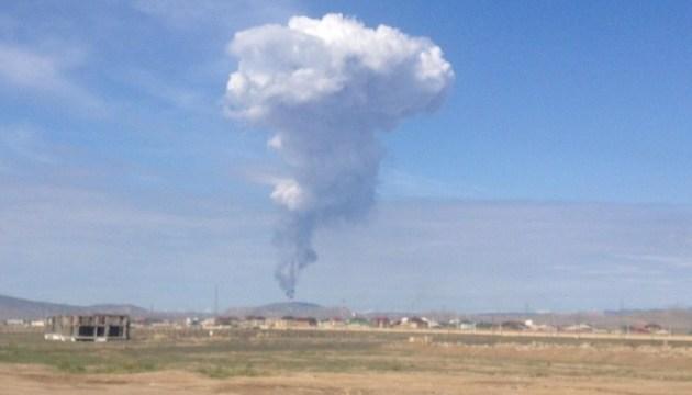 У Баку сталося виверження грязьового вулкана. ВІДЕО