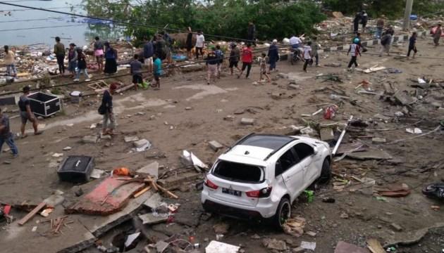 Землетрус і цунамі в Індонезії: кількість жертв зросла до 384