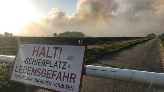 У Німеччині випробування Бундесверу спричинили затяжну торф'яну пожежу