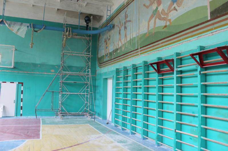 У луцькій школі з'явиться оновлений спортзал. ФОТО