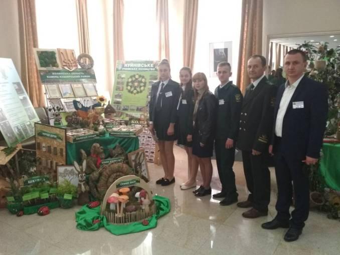 Юні лісівники з Волині здобули друге місце на всеукраїнських змаганнях. ФОТО