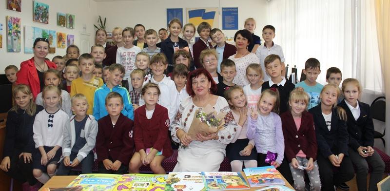 До Луцька завітала відома львівська письменниця. ФОТО