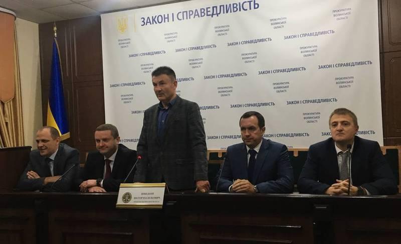 Прокурор Волині представив своїх новопризначених заступників