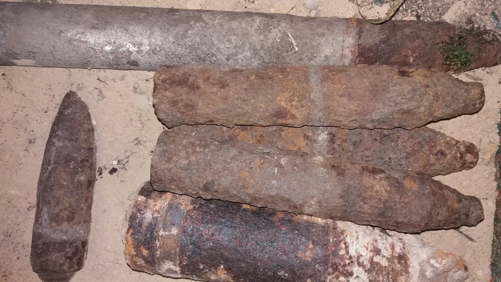 Волиняни під час польових робіт знайшли боєприпаси