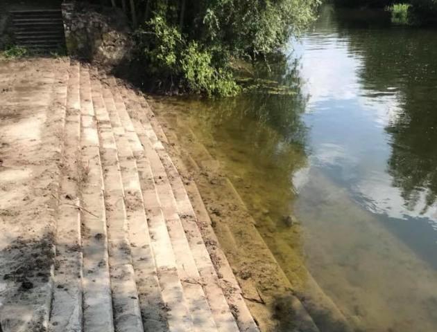 Луцькрада виділили 300 тисяч гривень на сходи, які відкопали у парку