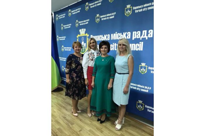 Делегація Луцької міської ради взяла участь у заходах з нагоди Дня міста Вараш