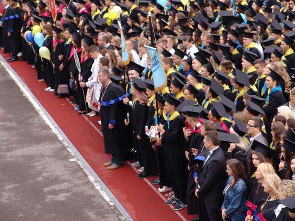 Першокурсників Лесиного вишу посвятили в студенти. ФОТО