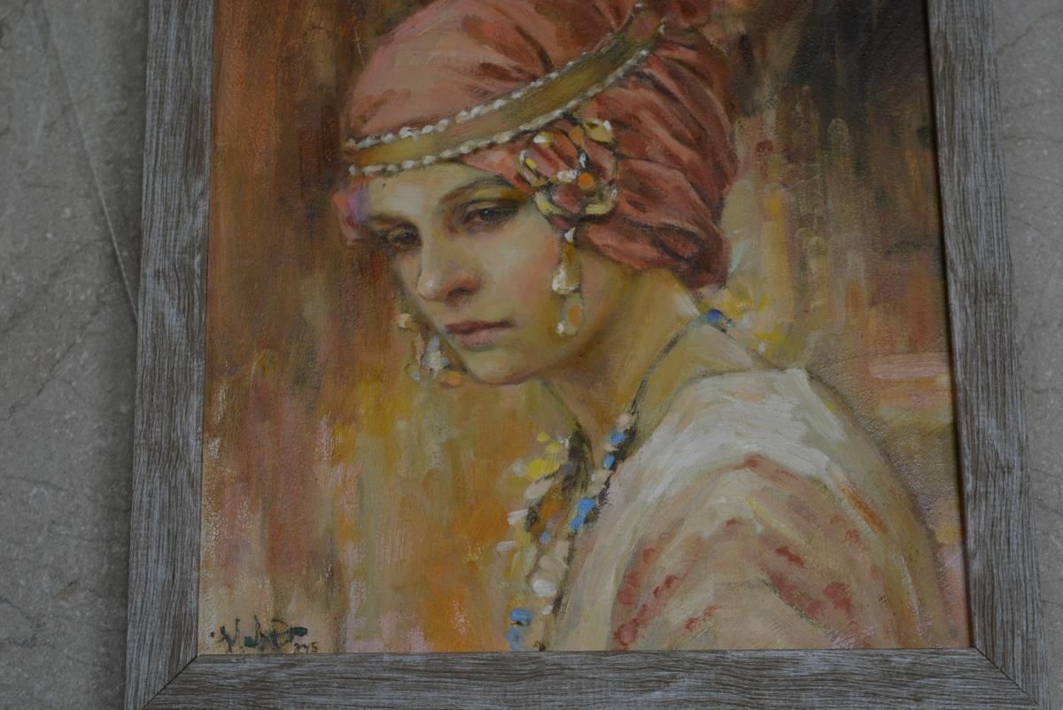 У Волиньраді відкрили виставку картин Іванни Дацюк