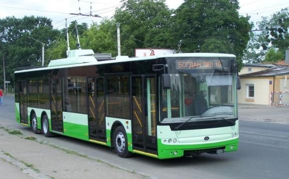 Змінили схеми руху деяких луцьких тролейбусних маршрутів