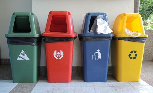 Для Луцька закупили 120 контейнерів для роздільного збору сміття