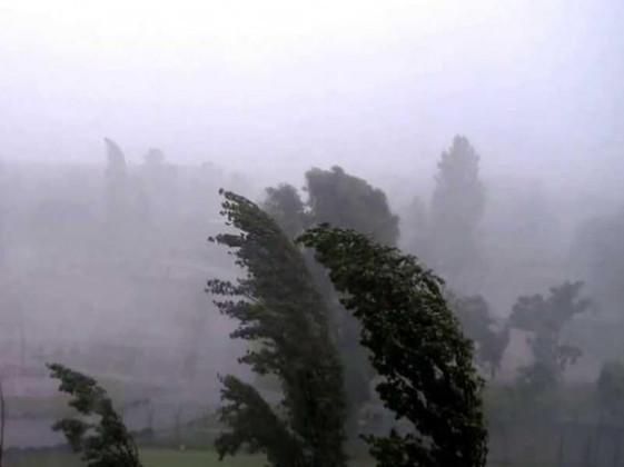 Волинян попереджають про грози та пориви вітру