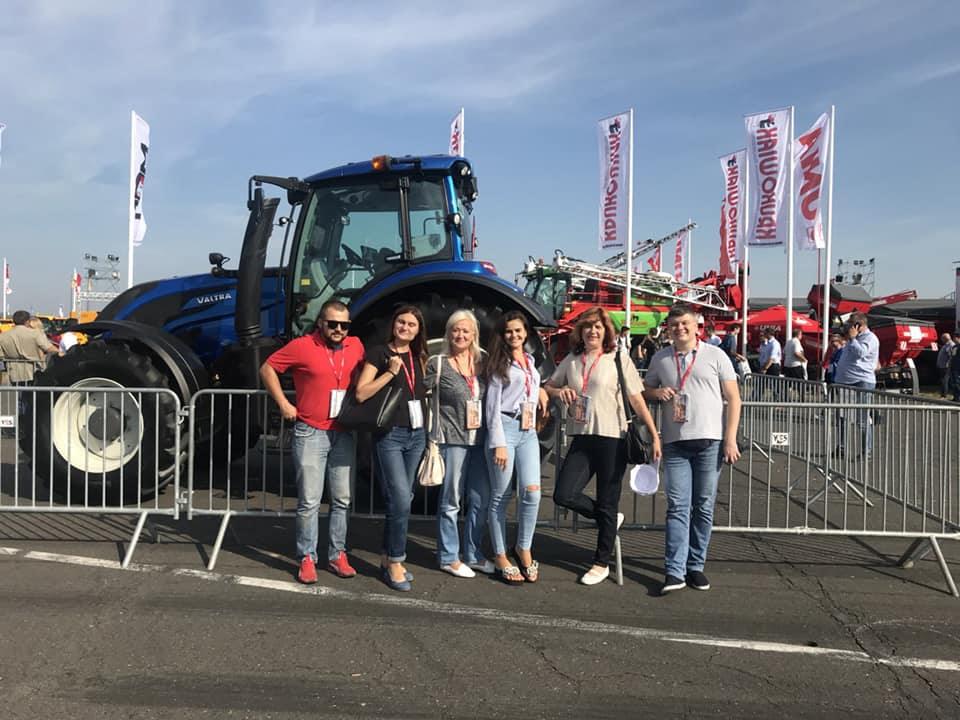 Студенти луцького вишу побували на сільськогосподарській виставці у Польщі