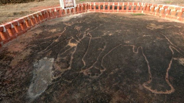 Археологи знайшли в Індії малюнки, що можуть належати невідомій цивілізації. ФОТО