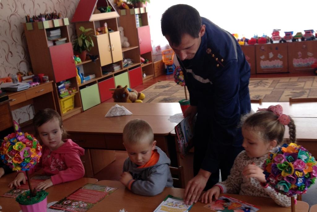 На Волині рятувальники навчали дошкільнят правил безпеки