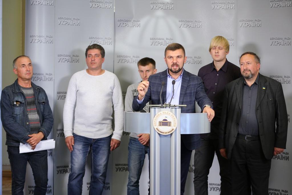 Волинські гірники у парламенті вимагали добудови шахти № 10 і виплати зарплат. ФОТО. ВІДЕО