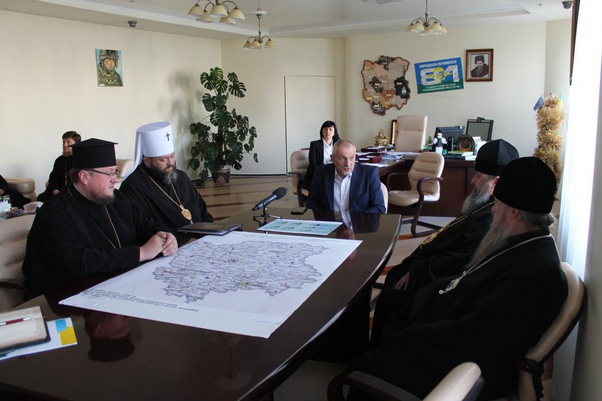 Олександр Савченко зустрівся з священнослужителями Волині. ФОТО